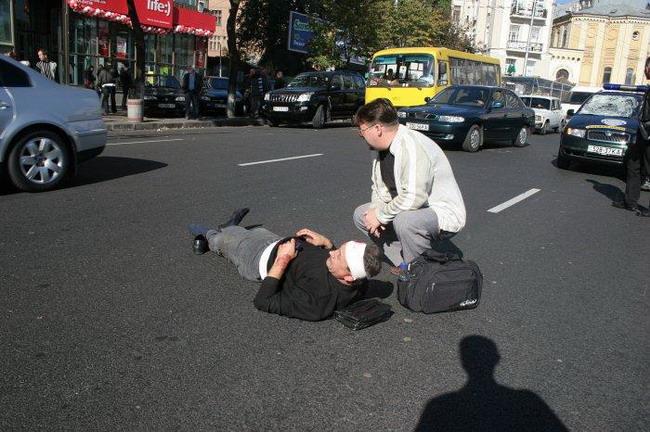 Каждое третье ДТП в Запорожье – наезд на пешехода