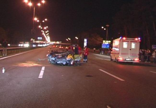 в нелегальной автогонке на Бориспольской погибли трое человек