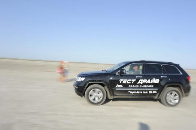 тест-драйв автомобилей Jeep