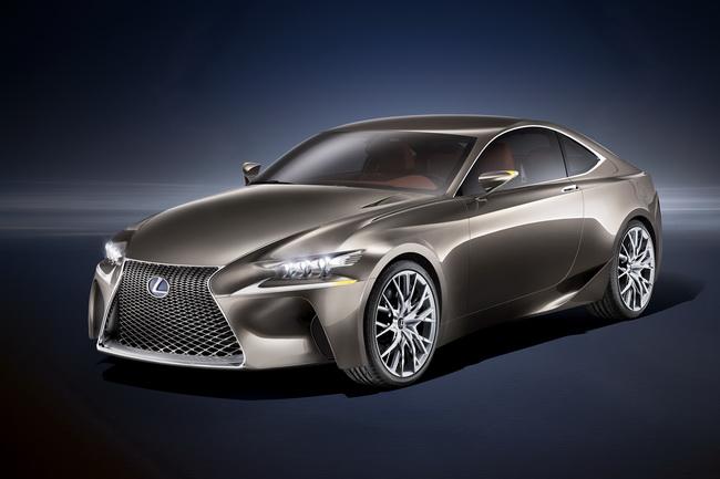 Парижский автосалон 2012: Lexus LF-CC
