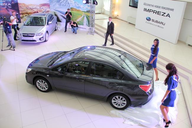 В Украине дебютировал седан Subaru Impreza нового поколения