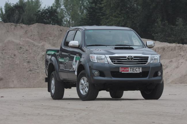 тест-драйв обновленной Toyota Hilux