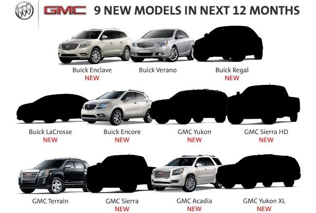 Buick и GMC