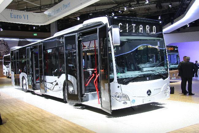 Ганноверский автосалон 2012: «Городской автобус 2013 года»
