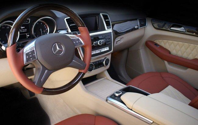 Внедорожник Mercedes-Benz M-Class