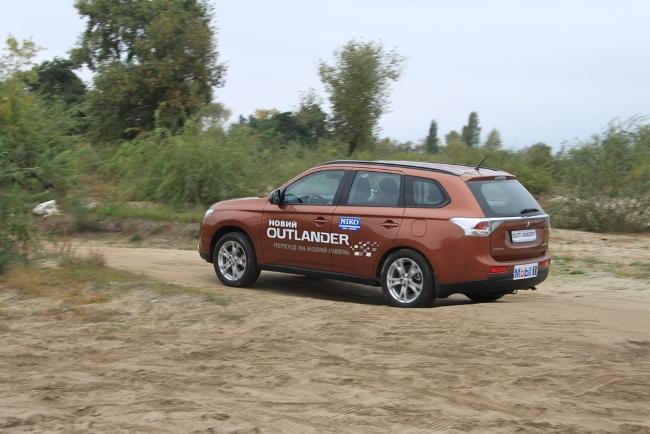 тест-драйв нового Mitsubishi Outlander