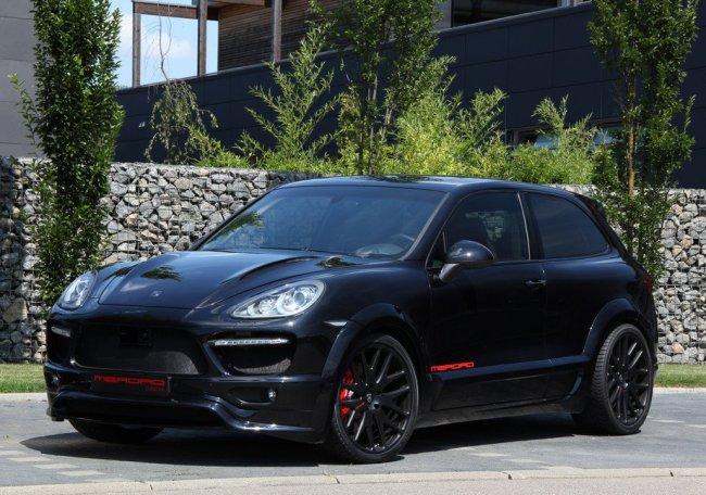 двухдверный внедорожник Porsche Cayenne