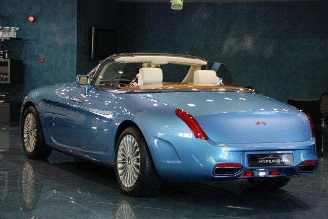 Изысканный Rolls-Royce Hyperion, созданный в дизайн-центре Pininfarina, снова выставлен на продажу