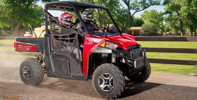 Новый мотовездеход Polaris Ranger HP900