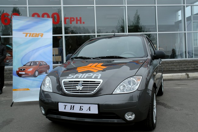 В Киеве открылся автосалон Saipa