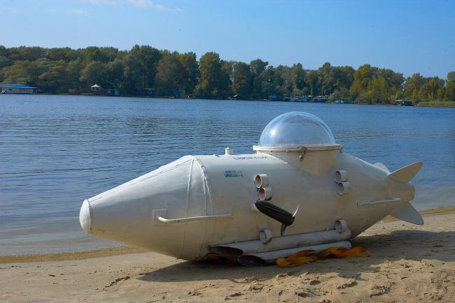 Cамодельная подводная лодка