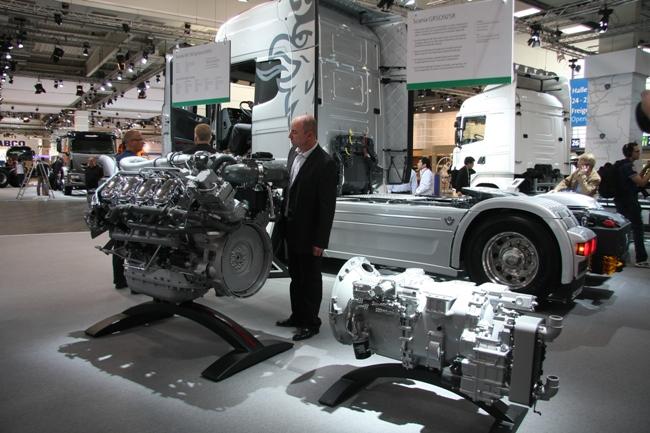 Автовыставка в Ганновере 2012: Scania Euro 6