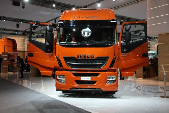 Ганноверский автосалон 2012: IVECO Stralis Hi-Way