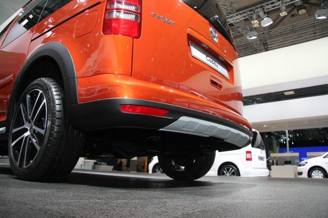 Выставка IAA-2012: Volkswagen Cross Caddy
