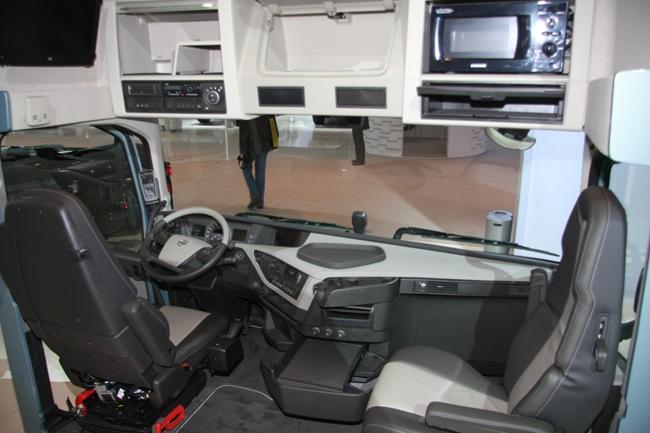 Выставка в Ганновере 2012: магистральный тягач volvo fh