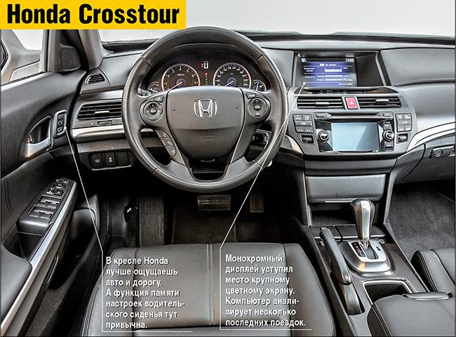 Тест-драйв Honda Crosstour