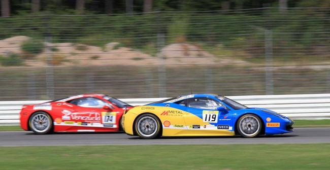 Team Ukraine racing with Ferrari: Боевой уик-энд в Германии