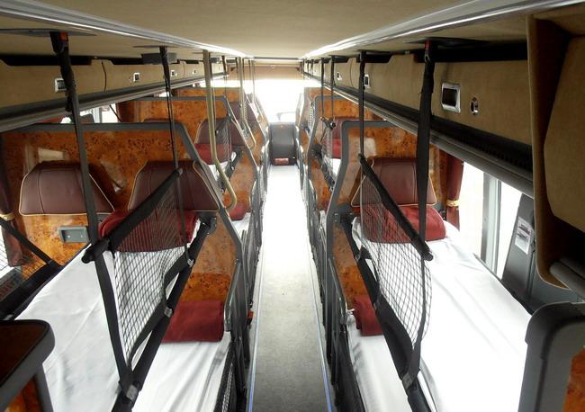 спальный автобус Van Hool Astromega TDX27