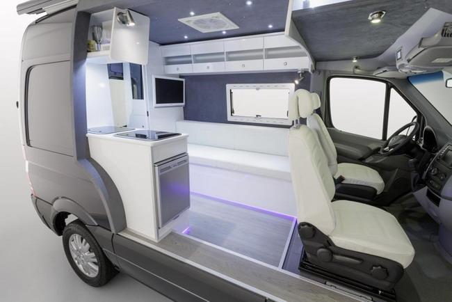 Моторхоум Mercedes-Benz Sprinter
