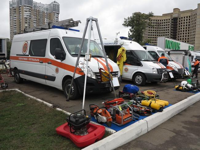 Аварийно-спасательные автомобили на базе Renault Master и Ford Transit