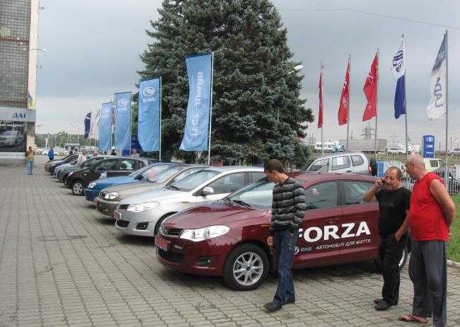 тест-драйв автомобилей ЗАЗ