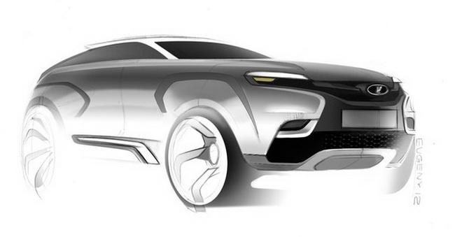 «АвтоВАЗ» предложил пользователям «ВКонтакте» нарисовать новую Lada