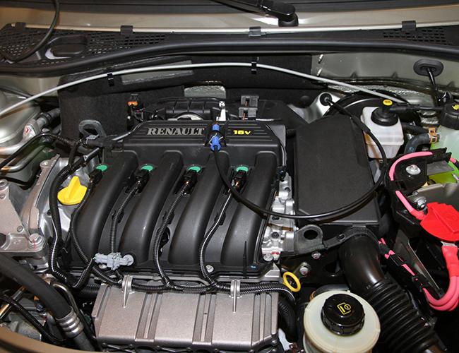 выпуск двигателей Renault