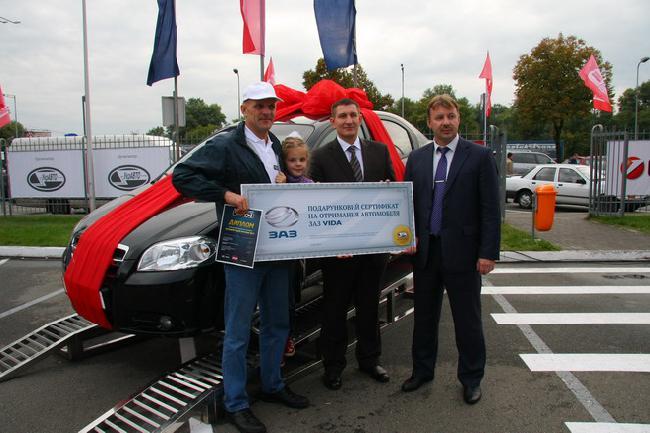 Лучший водитель Украины-2013