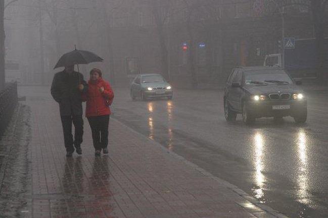 Езда в дождь