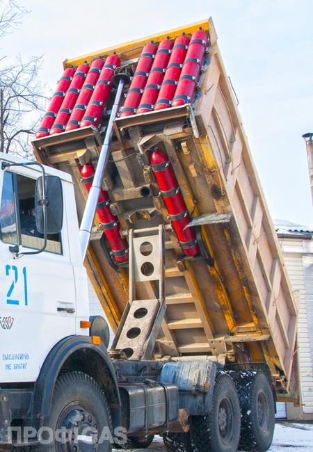 Сеть СТО «Профигаз» представляет технологию переоборудования МАЗ с дизельным двигателем для работы в газодизельном режиме