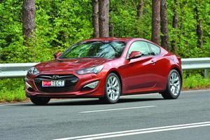 Hyundai Genesis Coupe 2,0 л T (260 л. с.)