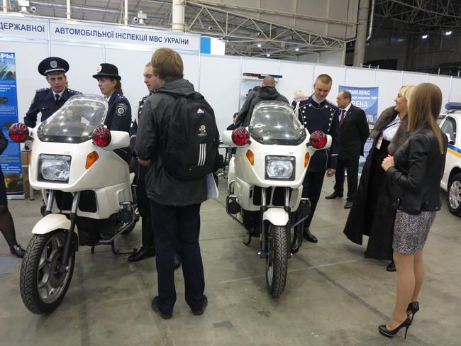 Мотоциклы патрульной службы ГАИ