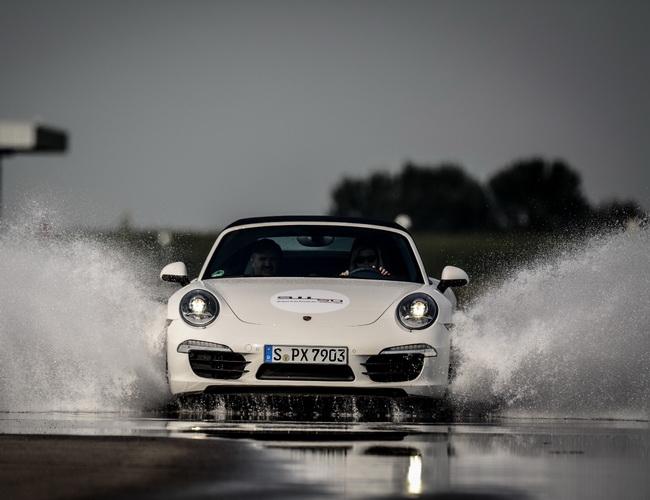 Модельний ряд Porsche випробували на треку Slovakiaring