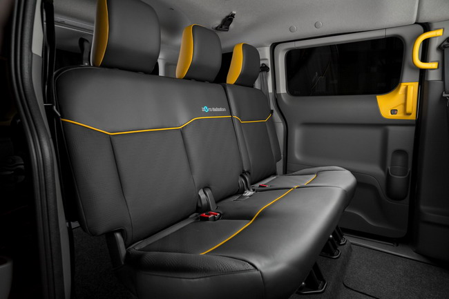Электромобиль Nissan e-NV200