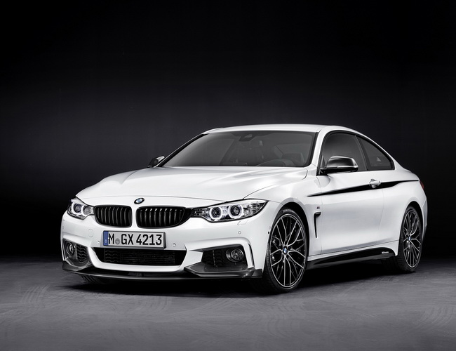 Новый BMW 4-Series получил пакет аксессуаров M Performance