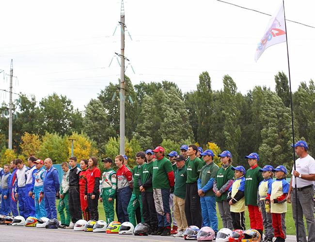 Финальные соревнования первенства Украины по картингу