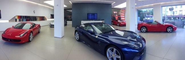 Автосалон Ferrari Kiev пополнился автомобилями