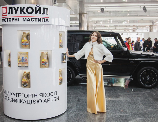 Масло ТМ «ЛУКОЙЛ» на Столичном Автошоу 2013
