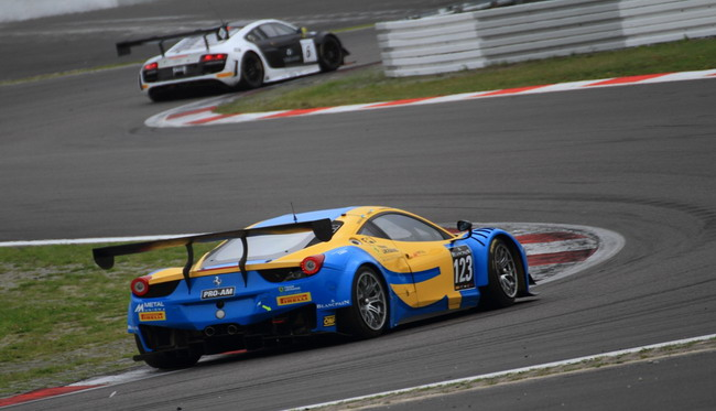 Боевой финал Blancpain Endurance Series для Team Ukraine racing with Ferrari