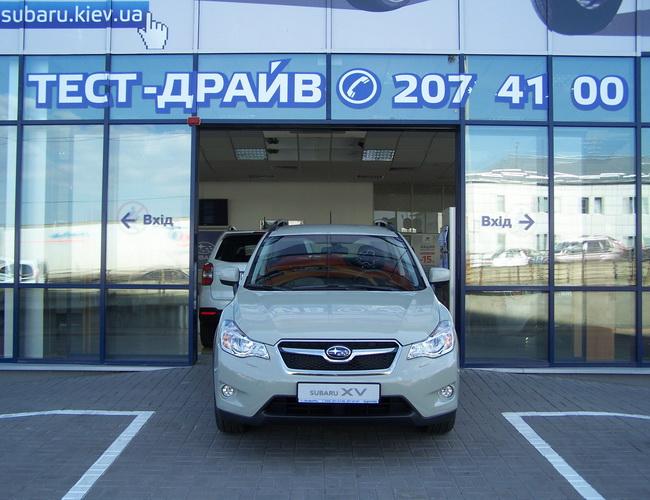 В автоцентре «Богдан-Авто Подол» появился Subaru XV окраса «Desert Khaki»