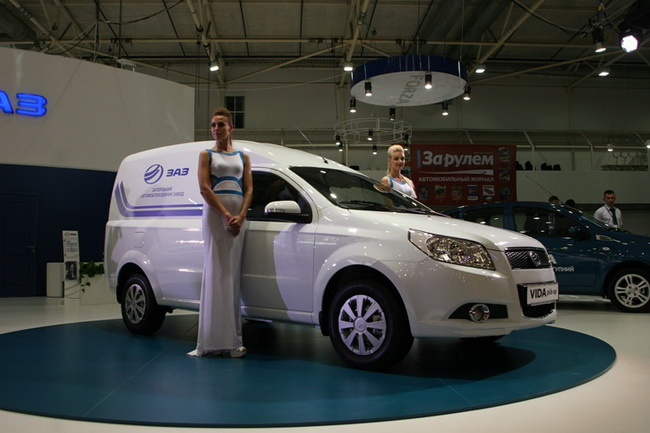 На Столичном Автошоу ЗАЗ представит экспозицию с автомобилями