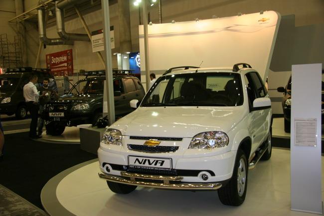 обновленная Chevrolet Niva