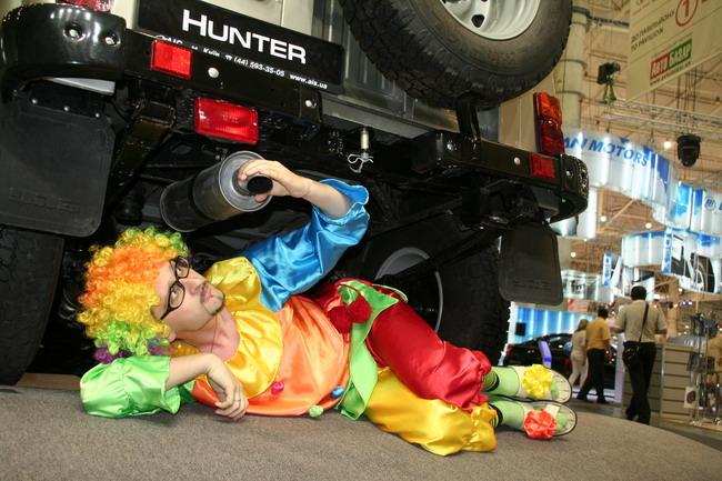 эксклюзивный УАЗ Hunter