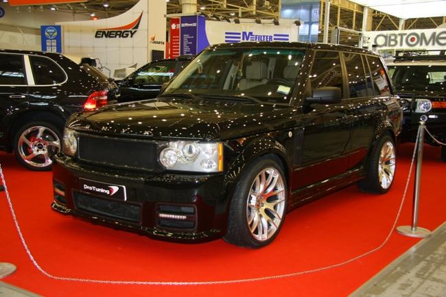 Range Rover в тюнинге с компонентами британского ателье Onyx.
