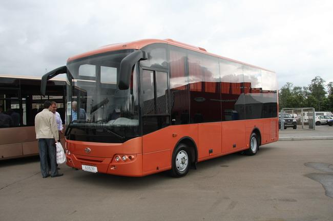 I-Van A10 очевидно скоро станет самым массовым автобусом от УкрАвто.