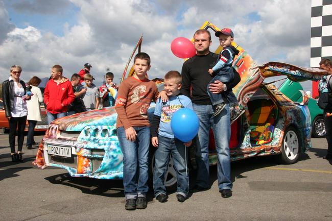 На Столичное автошоу и Car&Tuning Show в Киеве обычно приходят семьями
