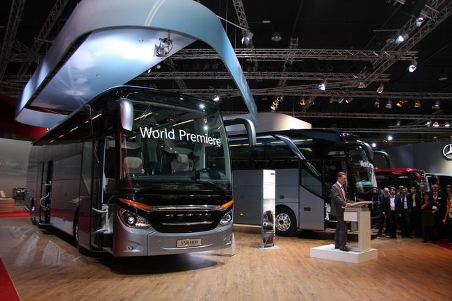 выставка Busworld Kortrijk 2013