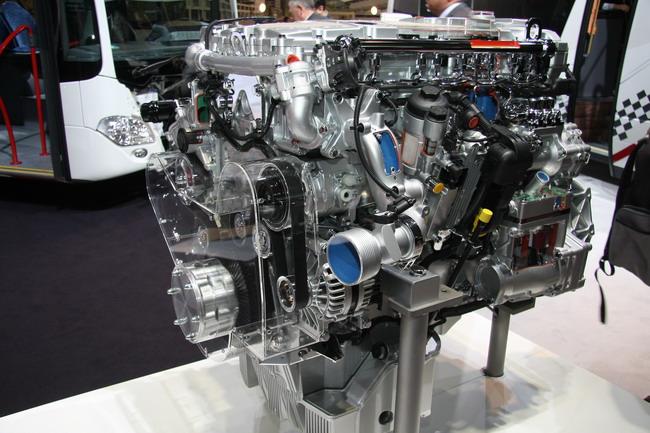 6-цилиндровый 7,7-литровый турбодизель OM 936 стандарта Евро 6