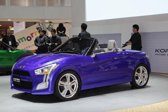 Токийский автосалон 2013: новый Daihatsu Copen