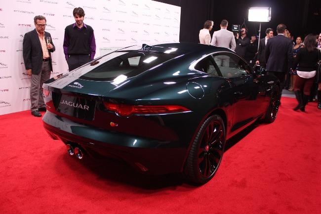 Автосалон в Лос-Анджелесе 2013: купе Jaguar F-Type